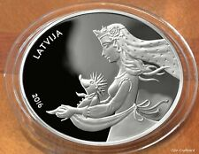 Latvia Silver collector coin Fairy Tale Coin II.Hedgehog 925 proof PREORDER 19.4
