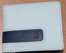 Men's Nixon Showtime Bi-Fold Mint Nylon Wallet. RRP $39.99. NWT.