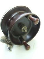 Vintage Large Charles Alvey & Son Brisbane  Surf Champion Bakelite Fishing Reel