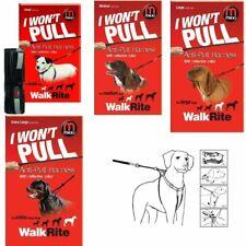 Mikki Walkrite Anti-Pull Dog Walking Harness 4 Sizes with Reflective Dog Collar