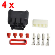 New 4 Set Ignition Coil Plug Connector Kit 90980-11885 For Toyota VVTI