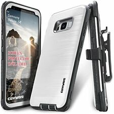Samsung Galaxy S8 Case Full-Body Armor Ptotective Full-Coverage Screen Protector