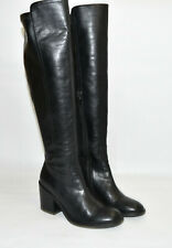 Jeffrey Campbell Woodvale Over the Knee Boot Brown Leather Size 8.5 OTK