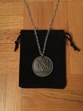 Watch Dog Necklace / Pendant with Pouch