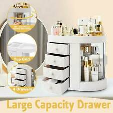 New Cosmetic Organizer Makeup Case Drawers Durable Jewelry Storage Box