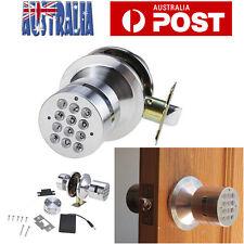 Digital Keyless Door Lock Code Entry Keypad Electronic Programmable Lock Knob OZ