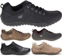 CAT CATERPILLAR Instruct en Cuir Sneakers Baskets Chaussures pour Homme Nouveau