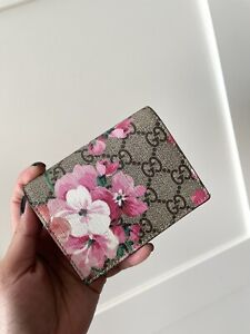 Gucci Blooms Floral Card Case Wallet