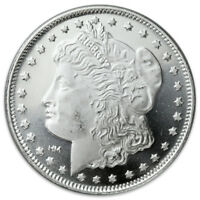 Morgan Dollar Design 1 oz .999 Fine Silver Rounds SKU31046