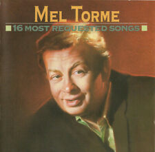 Gently USED CD Mel Torme 16 Most Requested Songs Jazz Pop Columbia Compilation