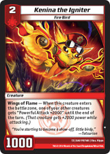 Kaijudo 3X KENINA THE IGNITER Common #99/160 13GAU (Playset) Quest Gauntlet 2014