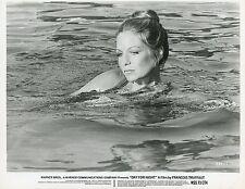 ALEXANDRA STEWART LA NUIT AMERICAINE TRUFFAUT 1973 VINTAGE PHOTO ORIGINAL #6