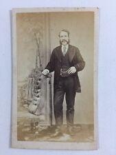 Victorian Carte De Visite CDV: Gentleman: W Gothard: Wakefield