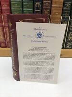 Easton Press Presidents ~ President James Buchanan ~ Phillip Klein ~ w/ Notes