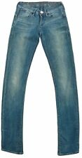 G-Star Raw Denim Corvet Skinny Womens Thigh Low Waist Jeans Size 25/30 Blue