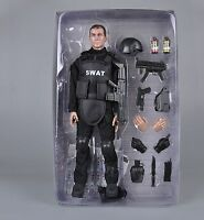 "US 1/6 SWAT Male Figure Soldier Body Uniform Model Set Military 12"" Action Doll"