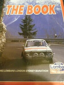 THE BOOK LONDON SYDNEY MARATHON 1993 DEDICATED LIMITED EDITION #567 FORD ESCORT