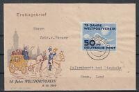 CU7648/ GERMANY DDR – MI # 242 ON ILLUSTRATED FDC COVER – CV 470 $