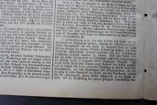 1872 Zeitung 115 / Dittenheim Grenzumritt