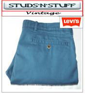 """VINTAGE LEVIS SLIM STRAIGHT CHINO TROUSER JEANS W36"""" L30"""" APROX SIZE UK 16 (T221"""