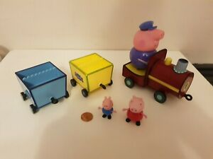 Peppa Pig Grandpa Pigs Talking Train & Figure Set, George, Combine Postage