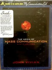 MEDIA of MASS COMMUNICATION 9e by Vivian+MyCommunicationLab PACKAGE (NEW)