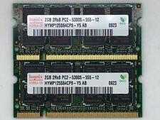 4GB kit RAM for Dell Vostro 1500 (2x2GB memory)(B4)