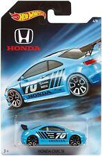 2018 Hot Wheels Honda 70th Anniversary Honda Civic SI Blue #4/8 1/64 Diecast