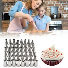 48Pcs/Set Stainless Steel Icing Piping Cake Nozzles Pastry Decorating Tips