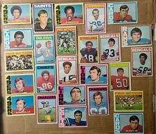 25x Topps 1972 cards, w/some minor stars, HOF'ers