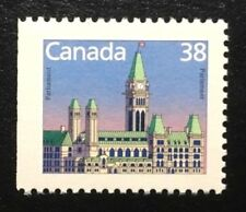 Canada #1165as Left MNH, House of Parliament Definitive Stamp 1988