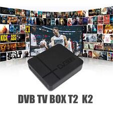 DVB-T2 K2 HD Digital TV Box Terrestrial Receiver  Youtube FTA H.264 MPEG-2/4 PVR