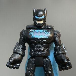 Rare Fisher-Price Imaginext Dc Comics Super friends Blue batman Figure Toy #2