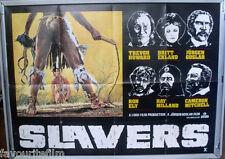 Cinema Poster: SLAVERS 1978 (Quad) Trevor Howard Ron Ely Britt Ekland Ray Miland