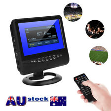 7 Inch Digital Analog Television Portable HD TV TFT-LCD Player MP3 MP4 JPEG VOB