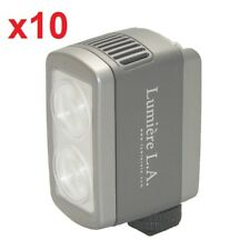 10x Lumiere L.A. L60326 DUO LED 5500K Portable White Daylight Video Light ONLY
