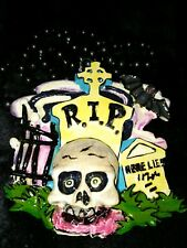 Beetlejuice 2003 Krewe of Bacchus Float Theme Bead Mardi Gras Night Living Dead