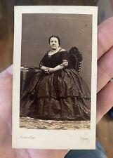 1860's cdv photo Marietta Alboni famous Italian opera  singer