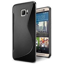 Handy Hülle HTC One M9 Schutz Case Silikon Cover Tasche Schutzhülle Bumper