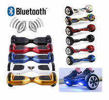 """Scooter electrico 6,5"""" patinete self balancing monociclo overboard con Bluetooth"""