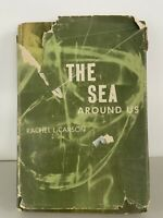 The Sea Around Us by Rachel Carson 1951 First Edition 1st Printing HC/DJ