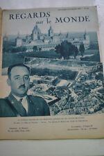 REGARDS SUR LE MONDE N°48 1936 FRANCO TOLEDE ELECTION ETATS UNIS LANDON ROOSEVEL