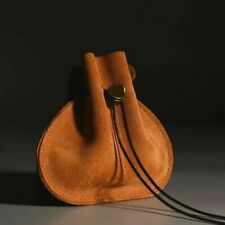 Traditional Leather Bushcraft / Fire Craft Pouch Ideal for Flint & Steel kits