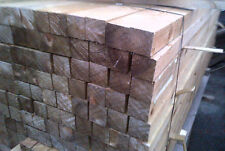 6'ft / 1.8meter Tanalised Treated Timber Fence Posts 3x3 / 75mm x 75mm