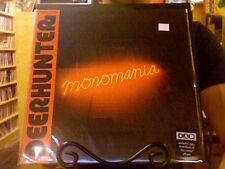Deerhunter Monomania LP sealed vinyl + mp3 download 4AD