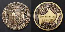 Médaille de ville de Balma (Haute-Garonne). 2° Salon des Arts. 1987. Bronze