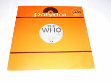 THE WHO - Substitute - 1976 UK 3-track 12'' vinyl single
