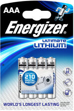 Energizer® Batterie, Ultimate LITHIUM, Micro, AAA, LR03, 1,5 V