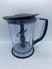 Ninja Master Prep Pro 48 oz Blender Pitcher Lid Replacement Round 6 Cup W/Blade