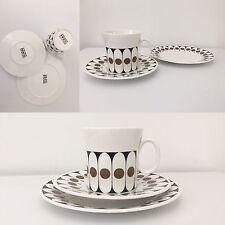 Gorgeous Designer Vintage Trio Coffee Tea Cup Saucer & Side Plate Excellent Cond